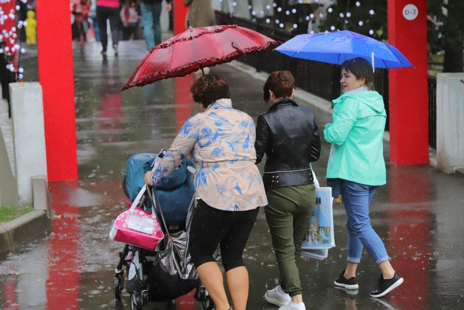 Четверг в Москве может стать самым холодным днем с начала июля