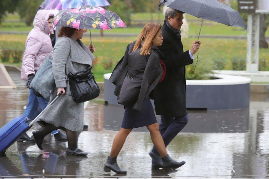 Сегодня в Москве ожидаются скоротечные ливни и порывистый ветер