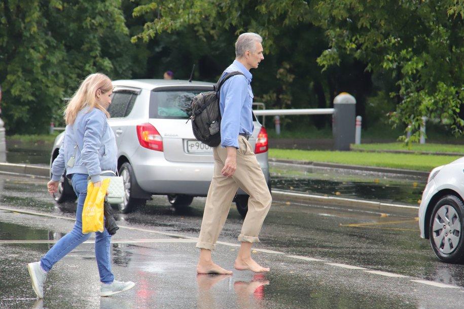 Сегодня в столице местами пройдёт небольшой дождь