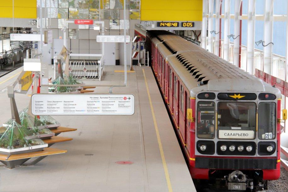 Четыре станции Сокольнической линии мосметро изменят режим работы