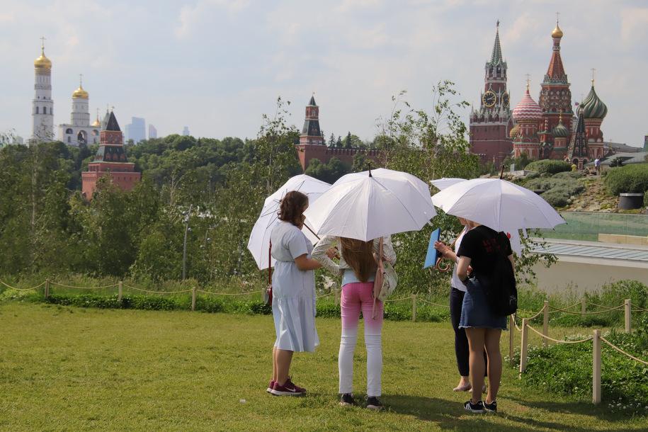 Сухая и солнечная погода ожидается в столице 24 июля