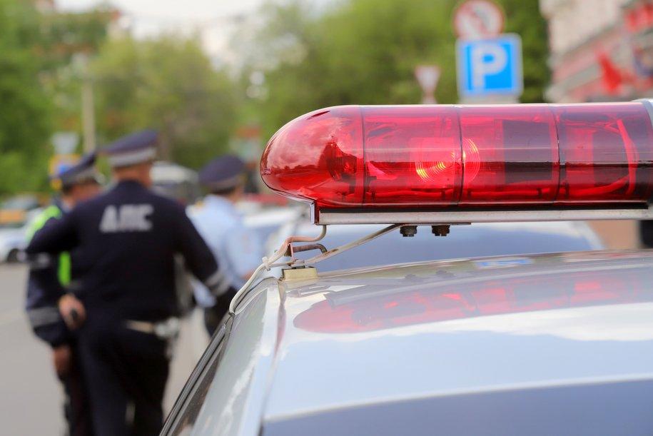 В Люблино произошло ДТП, пострадали два пешехода