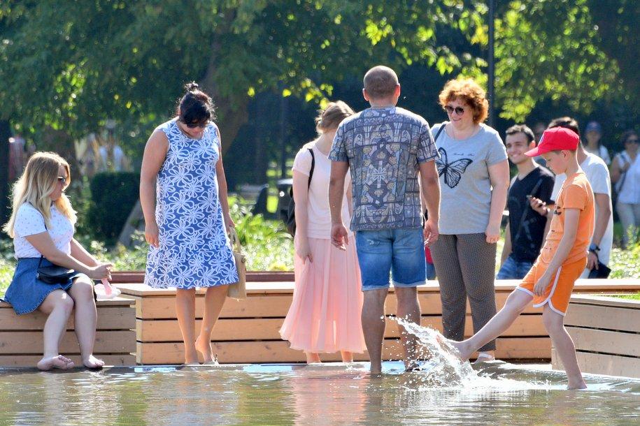 До Москвы дойдёт рекордная жара с Юга