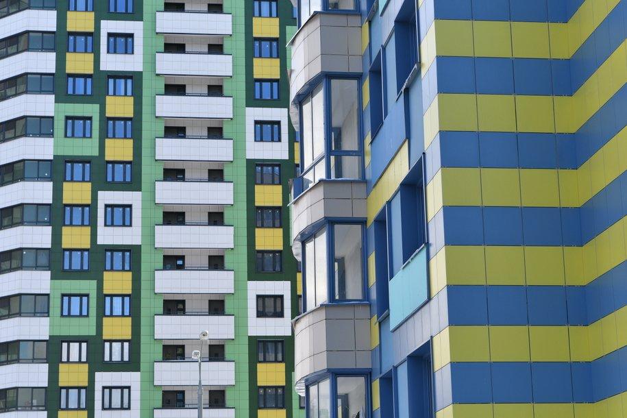 В Кузьминках завершается строительство дома по программе реновации
