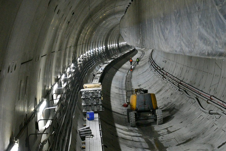 Завершена проходка левого тоннеля между станциями метро «Славянский мир» и «Улица Генерала Тюленева»