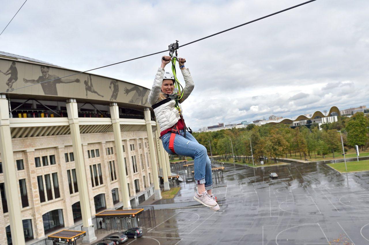 Экстрим-парк Skypark Moscow на Воробьевых горах откроют в августе