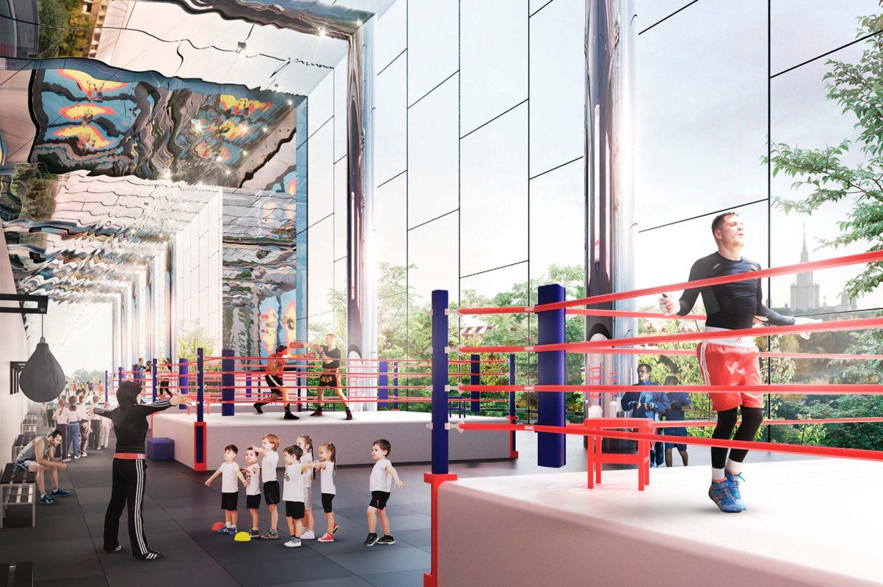 Дворец единоборств в Лужниках построят осенью 2021 года