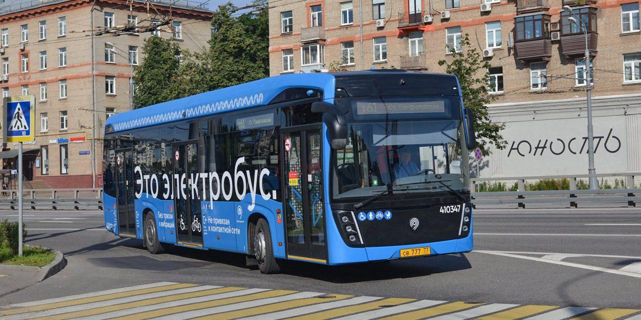 В Москве электробусы курсируют уже по 33 маршрутам