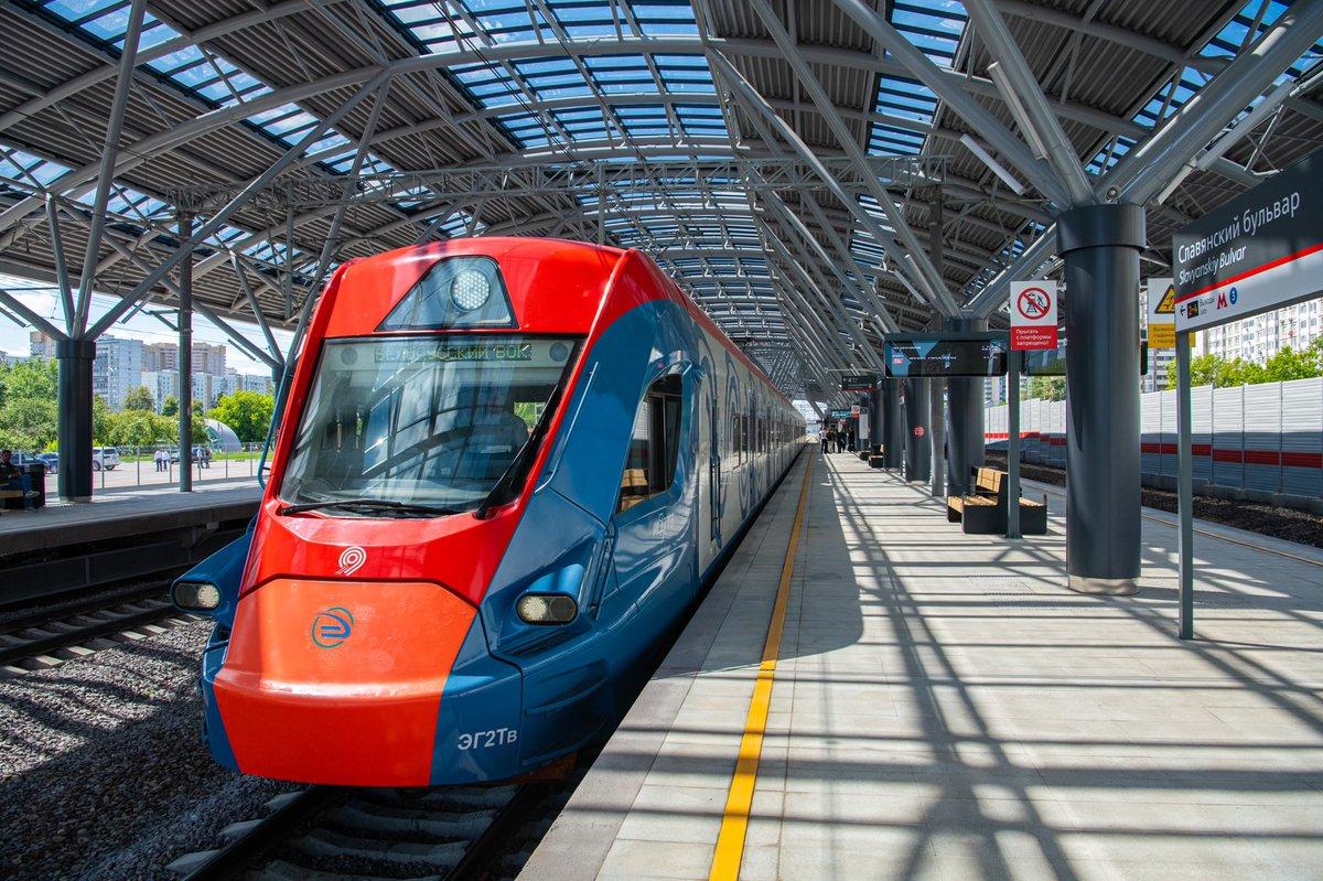 Станцией МЦД «Славянский бульвар» воспользовались почти 200 тысяч человек