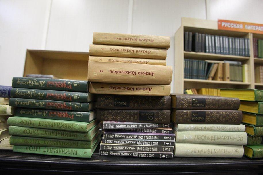 С 11 августа в Москве стартует новый этап проекта «Списанные книги»