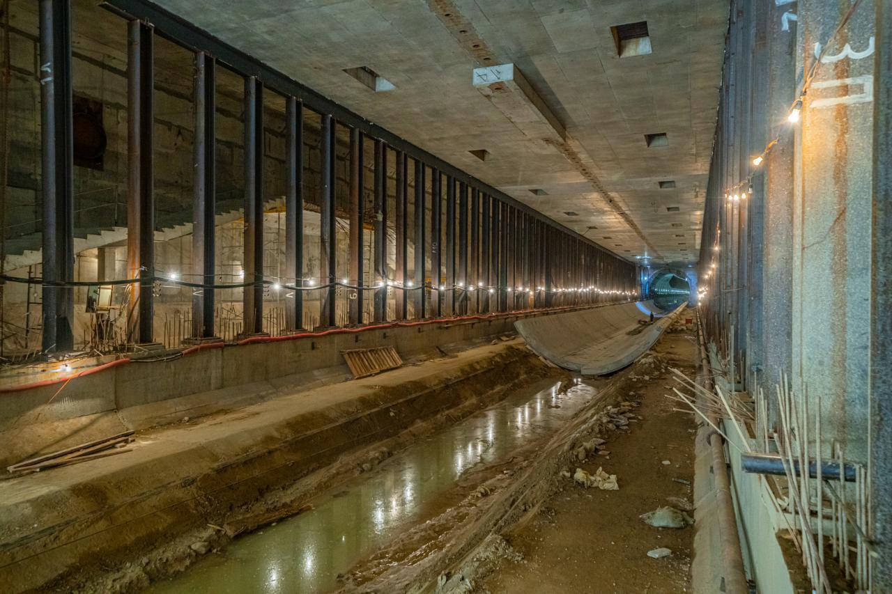 Продолжается проходка заключительного тоннеля на юго-западе БКЛ