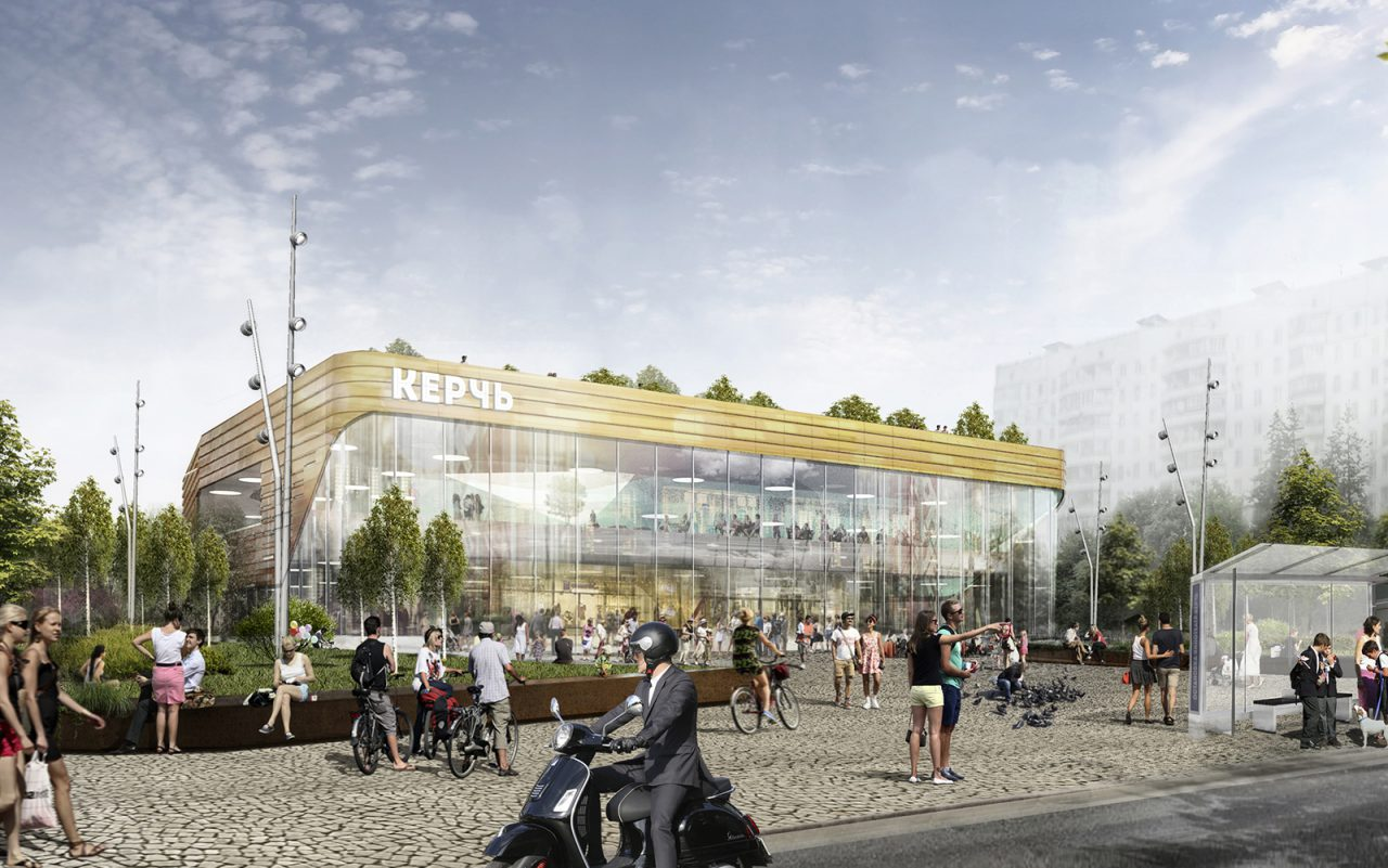 Кинотеатр «Керчь» станет новым районным центром