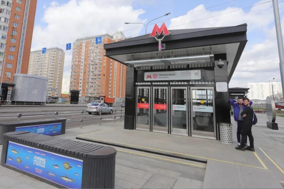 Участок Некрасовской линии метро изменит режим работы до конца августа