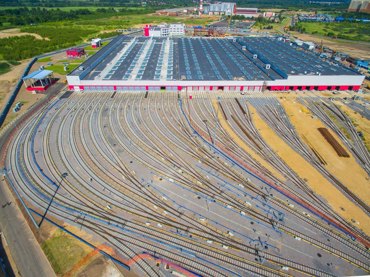 Электродепо «Руднево» победило в номинации «Лучший реализованный проект строительства объектов метрополитена и железнодорожного транспорта»