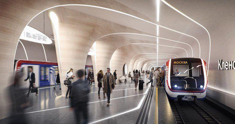 Станцию БКЛ «Кленовый бульвар 2» спроектирует бюро Захи Хадид
