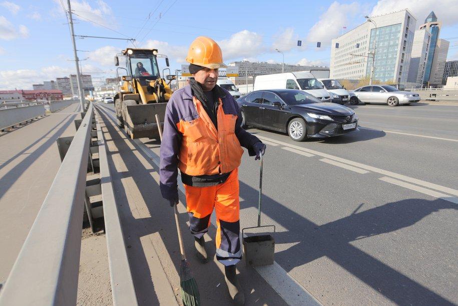 Ремонтные работы на столичных дорогах выполнены на 70%
