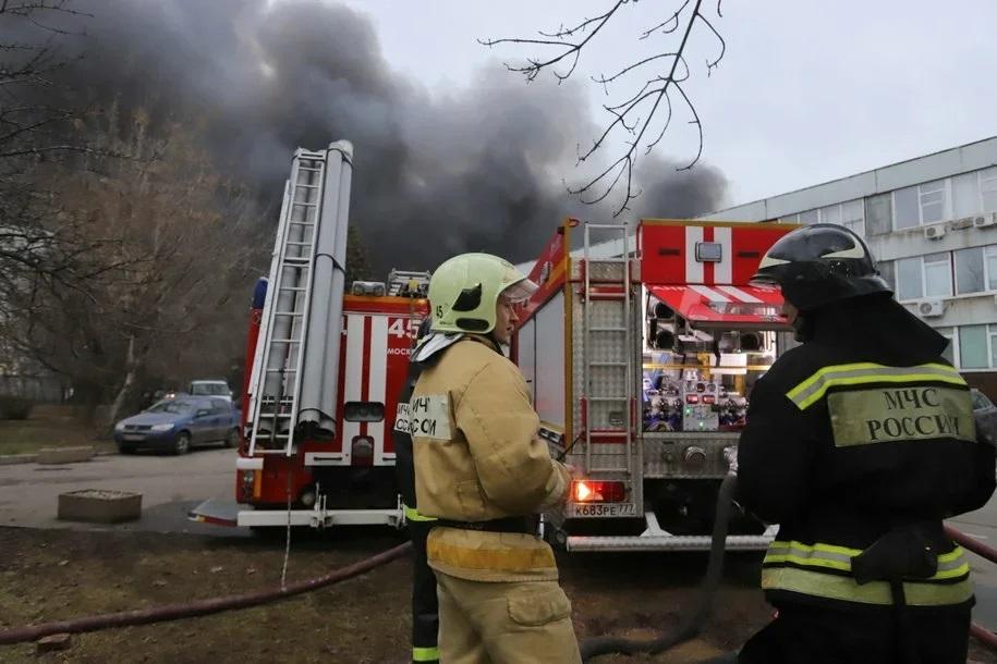В Москве четыре человека спасены при ликвидации пожара