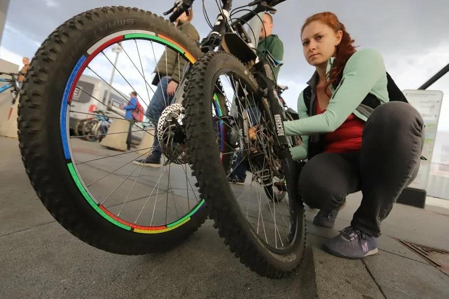 Велопатруль начал работать на улицах Москвы