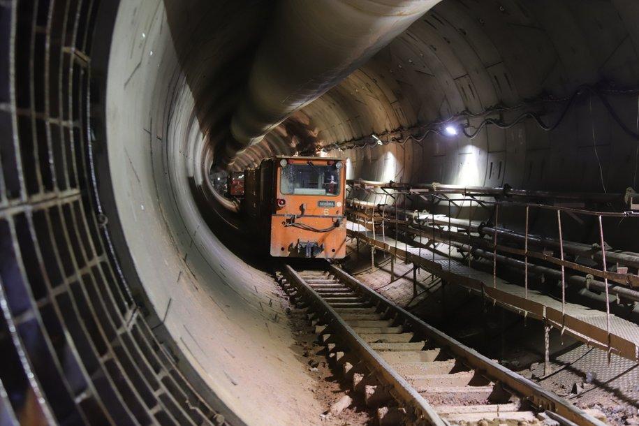 На западном участке БКЛ завершается возведение монолитных конструкций двух станций