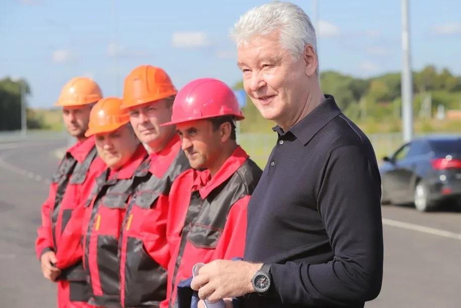 Сергей Собянин назвал День строителя одним из главных праздников в году