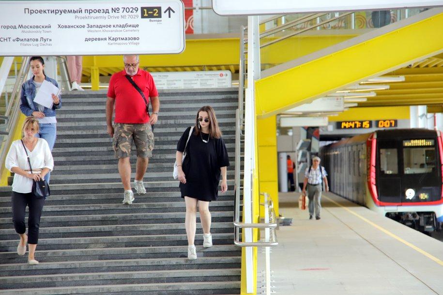 Пассажиры метро совершили почти 6 млн поездок в метро 27 августа