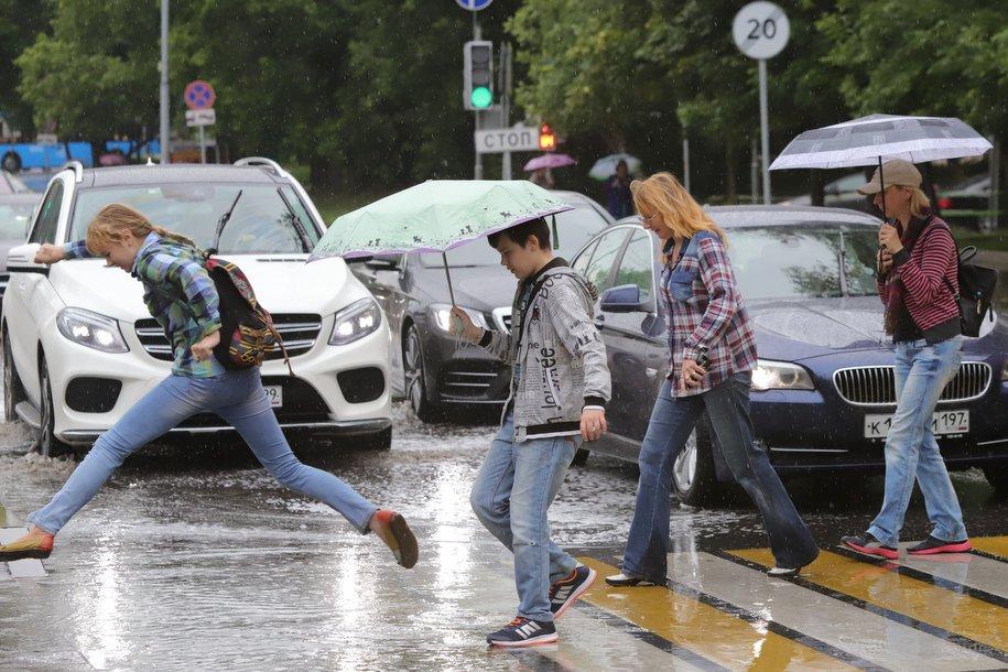 В Москве выпала годовая норма осадков