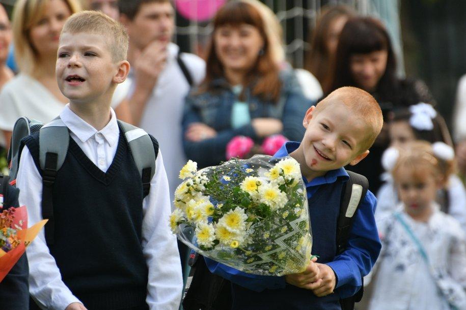Первого сентября в школах Москвы учеба начнется в очном режиме
