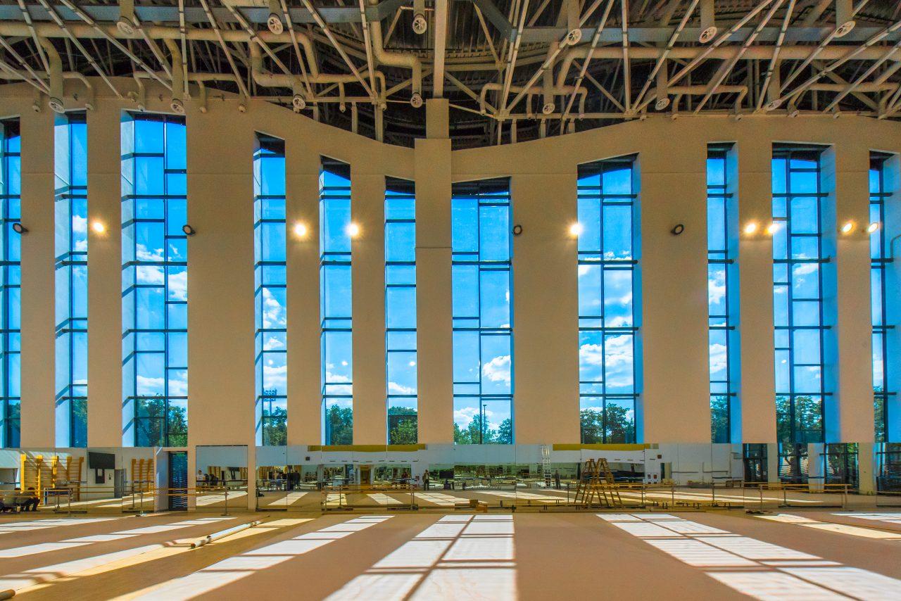 Дворец гимнастики в Лужниках признан «Проектом года» в общегородском конкурсе «Лучший реализованный проект в области строительства»