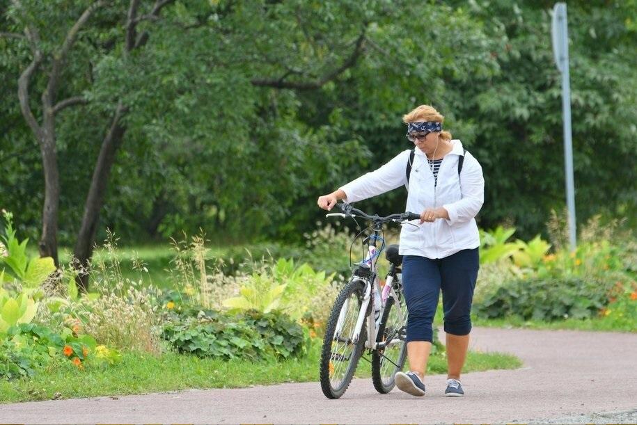 Постоянная велополоса появилась на Лесной улице