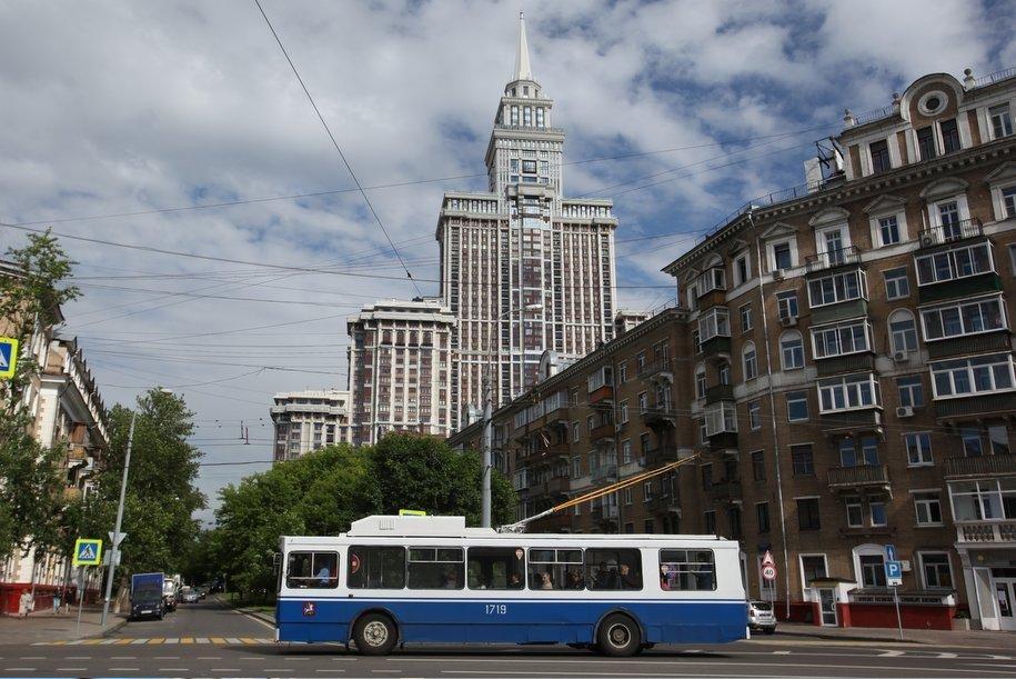 Троллейбусы в Москве будут курсировать только по одному маршруту