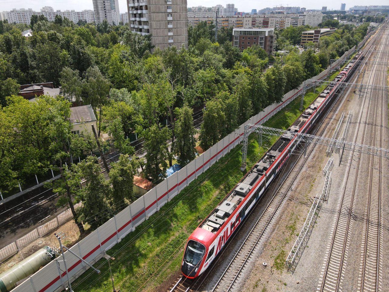 До конца текущего года на будущем МЦД-4 появится пять станций
