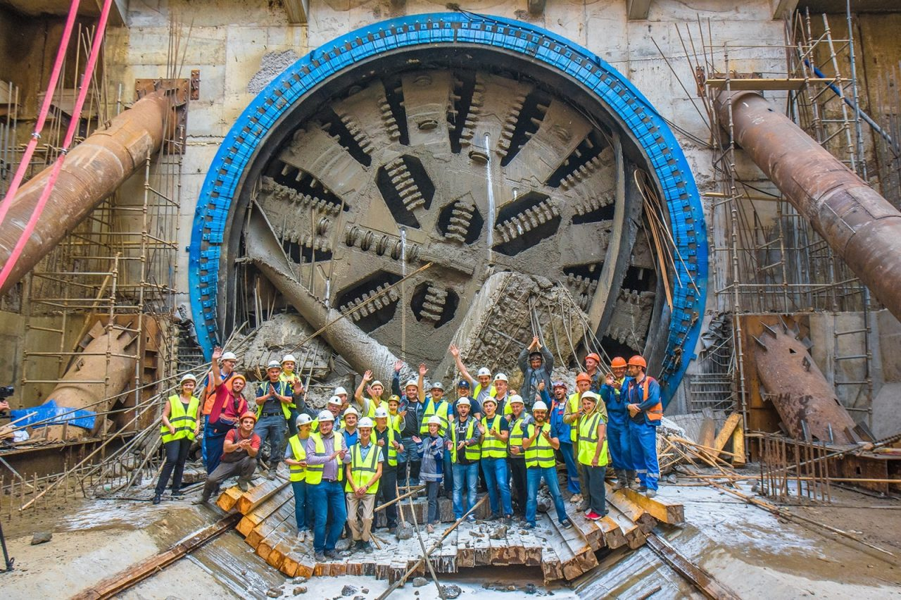 Тоннелепроходка на Большом кольце метро выполнена на 87,5 %