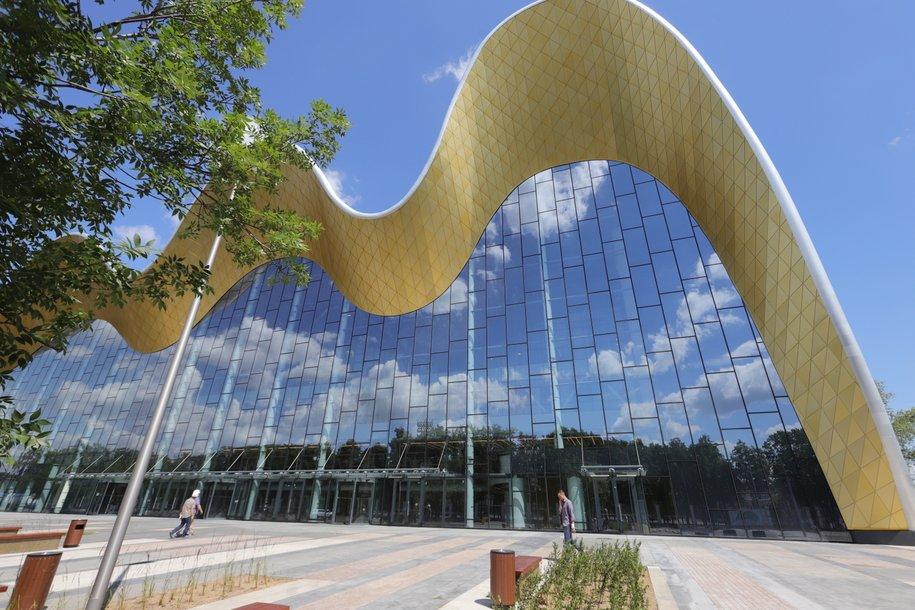 Уникальный проект Дворца гимнастики в Лужниках взял приз на выставке MIPIM Awards