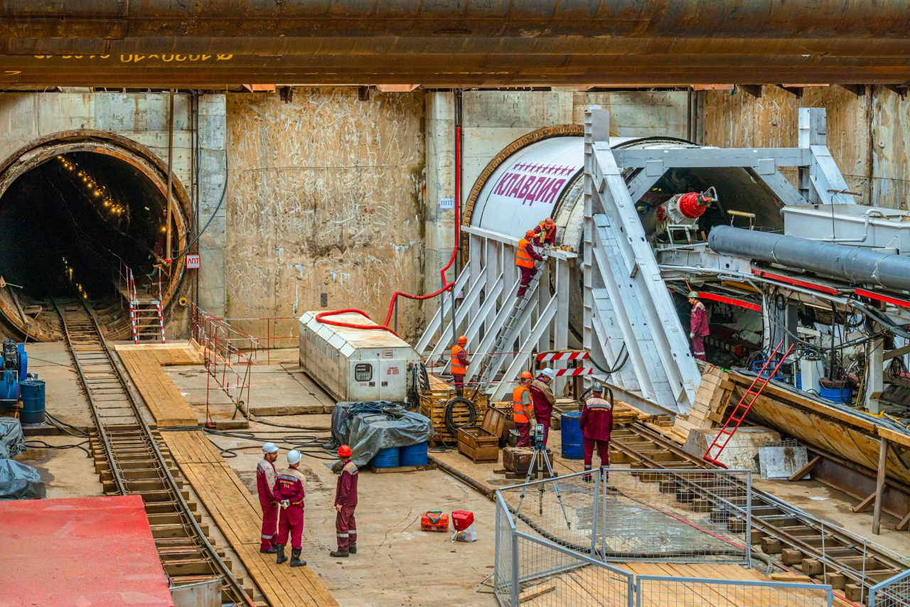 Стартовала проходка правого перегонного тоннеля до станции метро «Улица 800-летия Москвы»