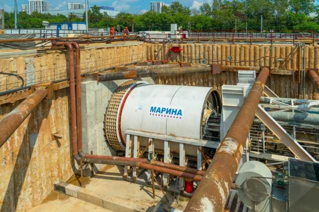 18 тоннелепроходческих комплексов задействовано на строительстве мосметро