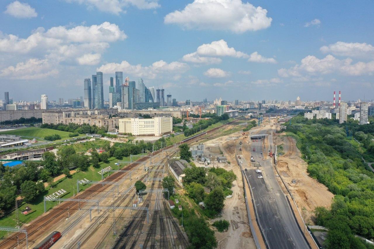 До конца года в столице достроят проспект Генерала Дорохова