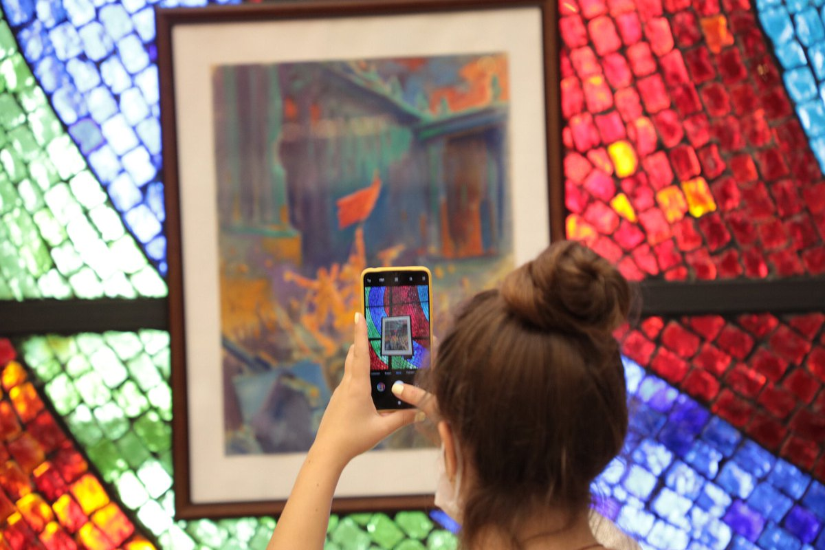 В Музее Победы открылась выставка «Война глазами художника»
