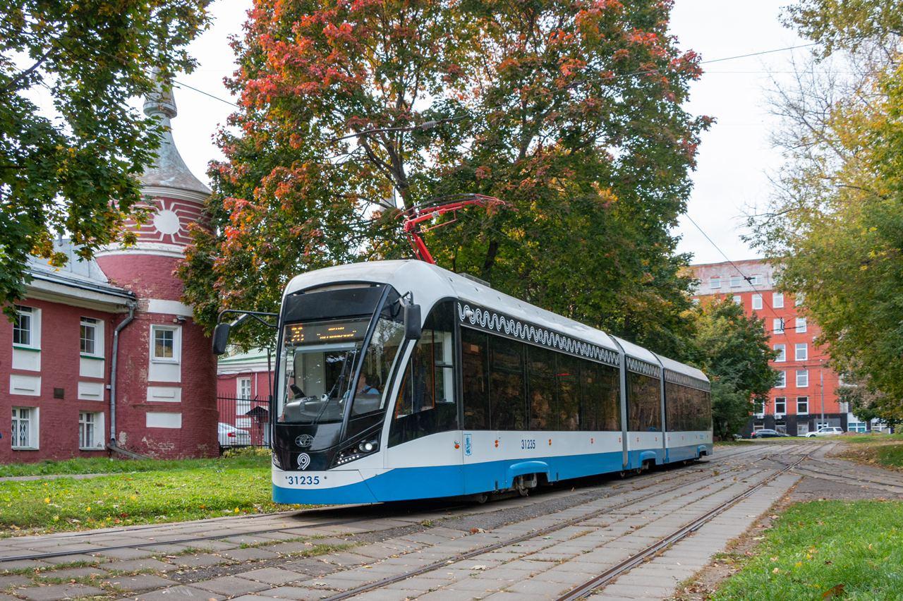 Трамваи «Витязь-Москва» сегодня впервые вышли на маршрут № 26