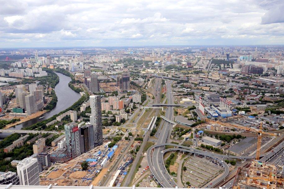 В районе «Москва-Сити» на ТТК ограничели движение до 31 октября