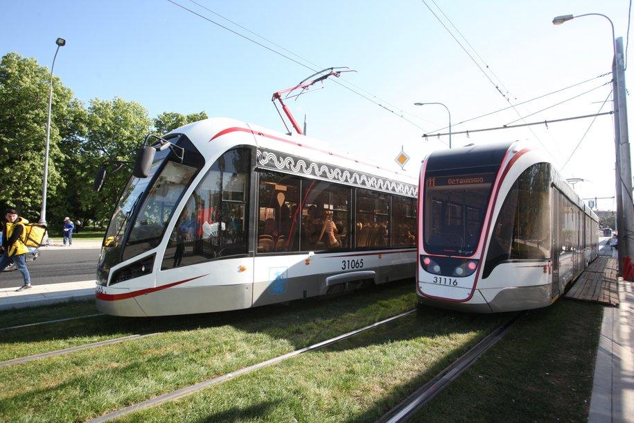 Первый беспилотный трамвай протестируют в Москве в ближайшее время