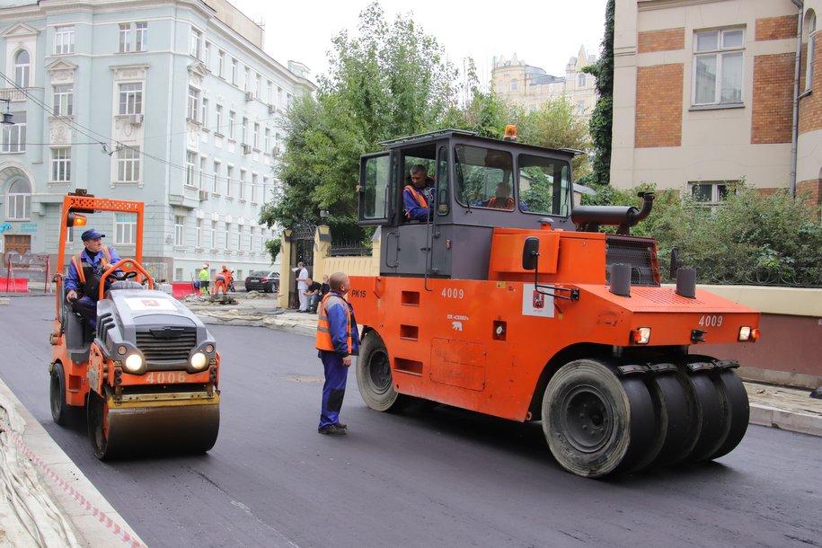 За три года в Москве построят около 314 км дорог