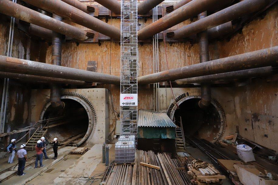 На западном участке Большой кольцевой линии метро завершили проходку всех тоннелей