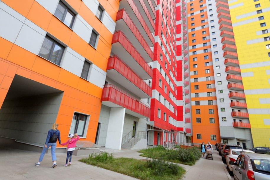 Москва на 82% выполнила годовой план ввода жилья