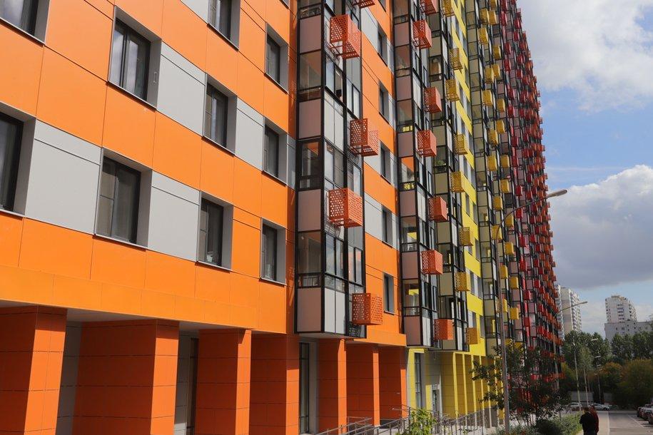 По программе реновации в Москве построено более 60 домов