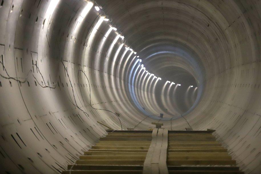 С начала года в Москве построили 28 км тоннелей метро