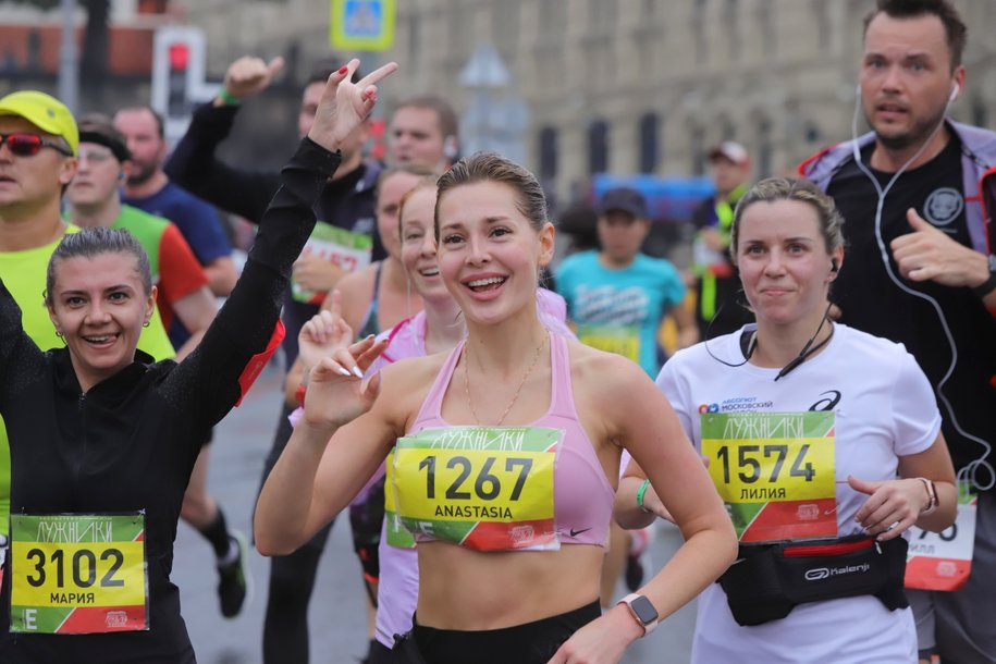 Центральные улицы Москвы перекроют из-за марафона