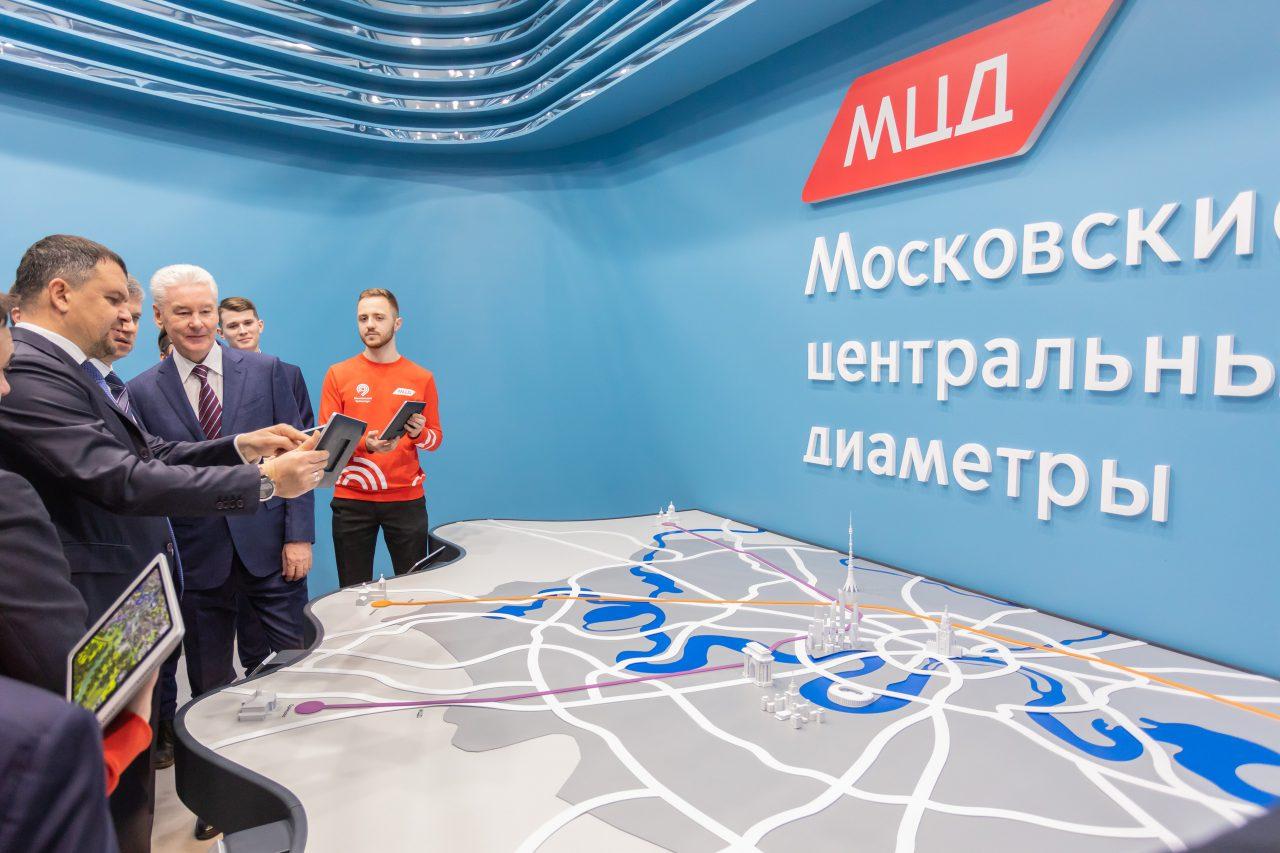 Сергей Собянин открыл после реконструкции станцию «Мичуринец»