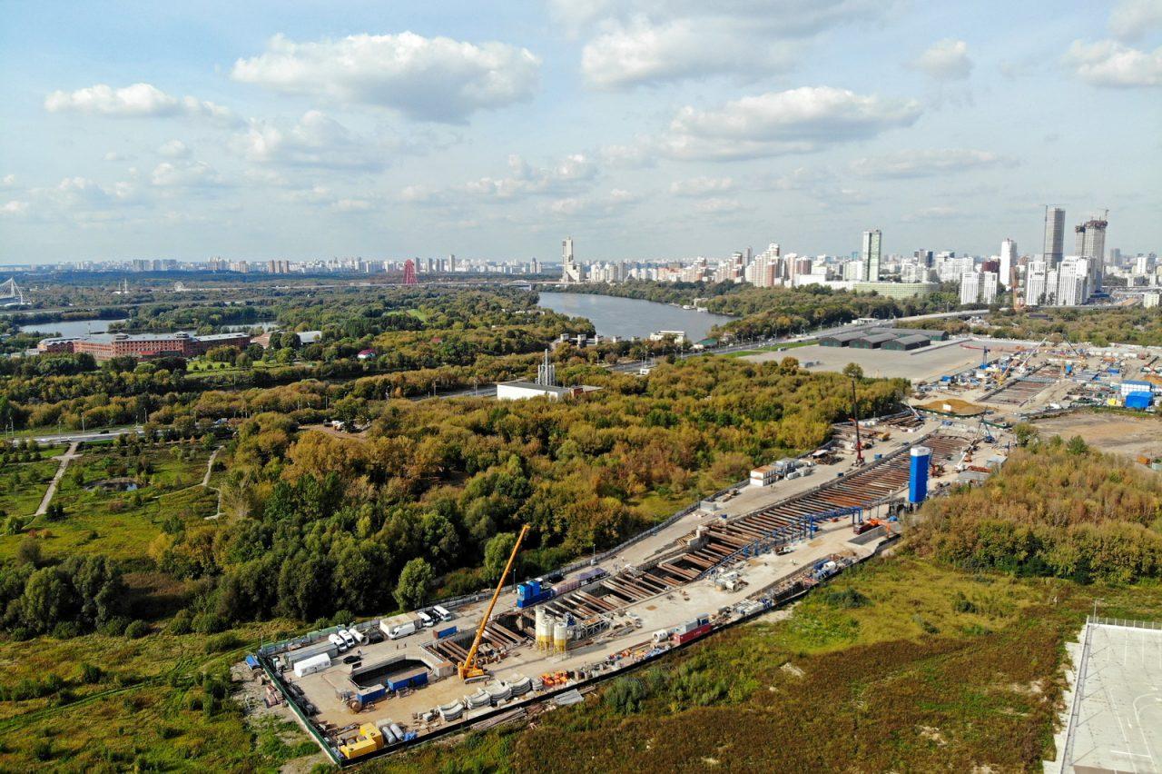 Особенностью станции метро БКЛ «Карамышевская» станет канатная дорога