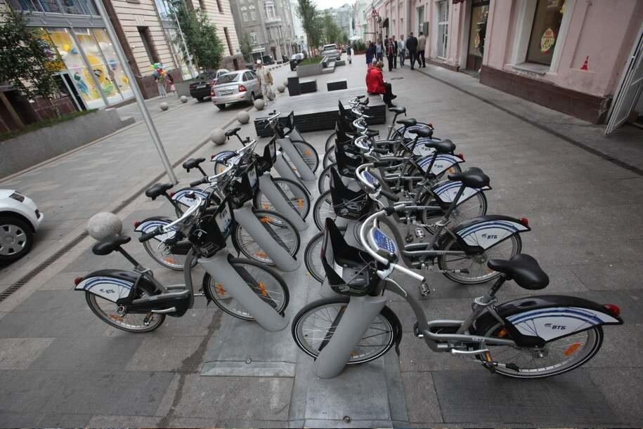 В Москве на прокатных велосипедах совершили почти 4 млн поездок