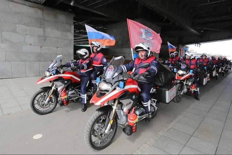В столице проходит Московский осенний мотофестиваль